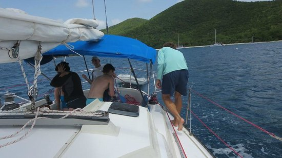 Morningstar Sailing and Power Charters : The Marlin