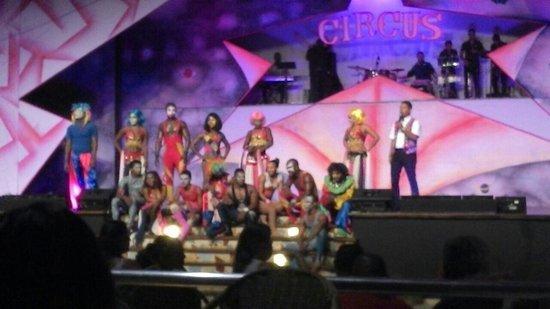 Occidental Caribe: Excelente show