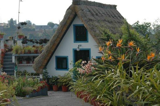 Casa típica de Santana