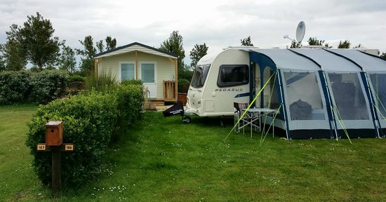 Camping Le Cormoran : My Pitch also shown is the Private Facility Block
