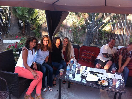 Barone's: The Cabana with some of our friends