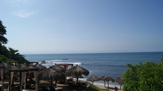 The Royal Suites Punta de Mita: View from the lower pool