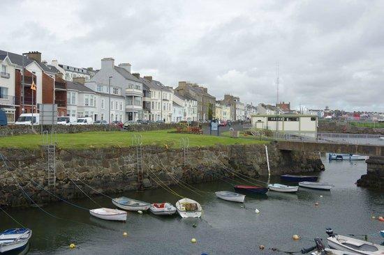 The Port Hotel : Portrush, N. Ireland harbor
