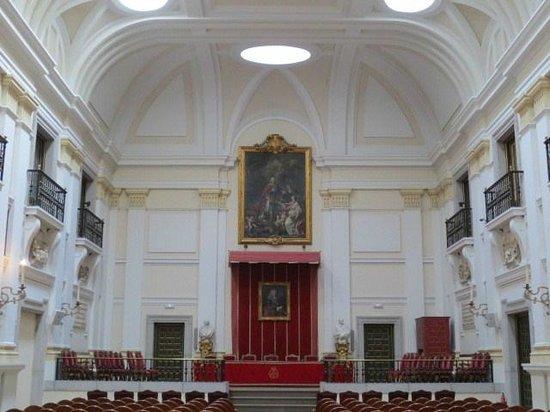 Museo de la Real Academia de Bellas Artes de San Fernando : 儀式の間