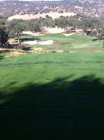 Copperopolis, CA: 214 yard par 3 hole 14