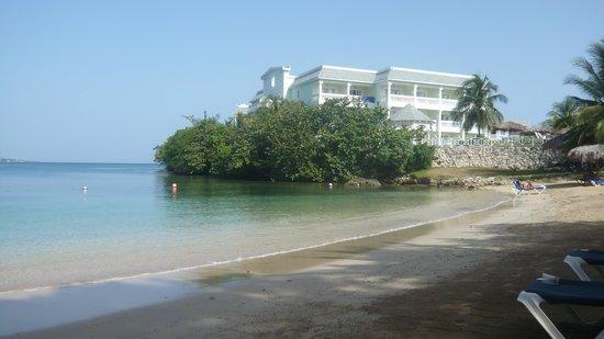 Grand Palladium Lady Hamilton Resort & Spa : coral beach