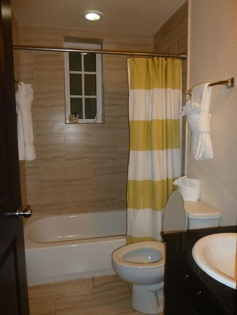 Tradewinds Apartment Hotel : Baño