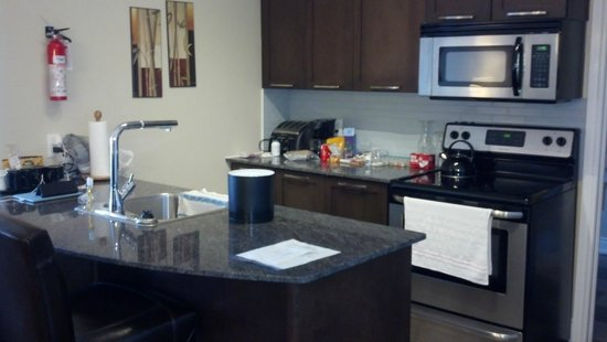 Living Water Resort : The kitchen