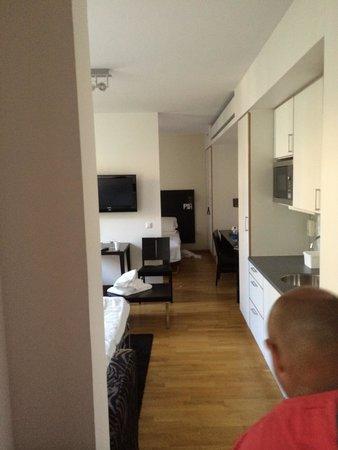 BEST WESTERN PLUS Time Hotel: Stort familierom med et lite kjøkken. Veldig bra.