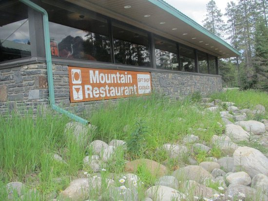 Mountain Restaurant: The side