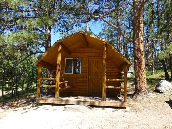 Horse Thief Campground : Cabin
