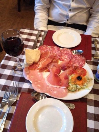 Giovanni's & Luca's: Meat plate! Yum!