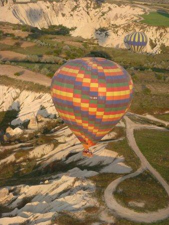 Cappadocia Voyager Balloons : Up