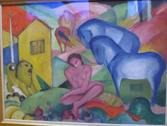 Museo Thyssen-Bornemisza: マルク,夢