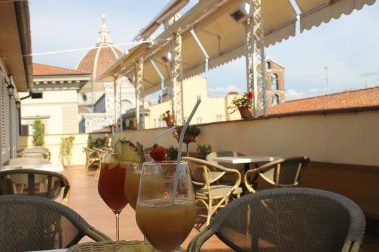 Hotel Laurus al Duomo: terrace