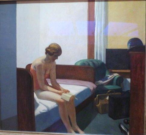 Museo Thyssen-Bornemisza: ホッパー,ホテルの部屋
