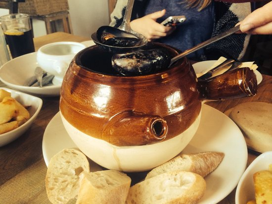 The Old Boat House: Seafood steamer £16.50 (TIP get lots of fresh bread to mop up the delicious sauce!)