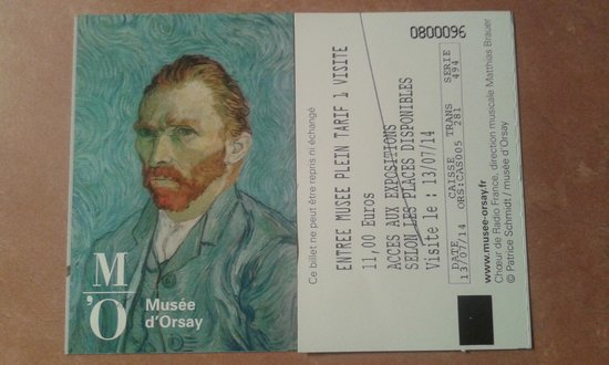 Musée d'Orsay: Bilhete Museu d´Orsay