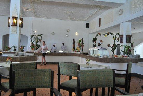 Diani Sea Lodge: Resaurante