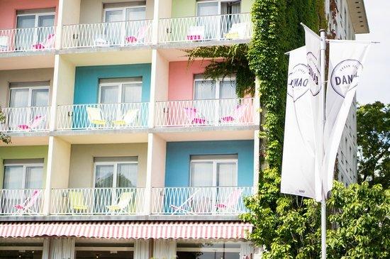 Bedroom picture of hotel daniel graz graz tripadvisor for Designhotel graz