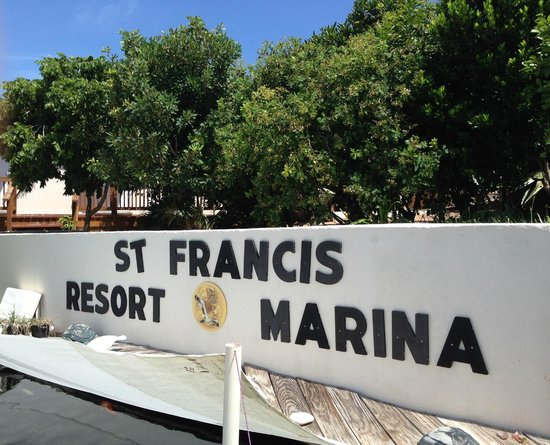 St Francis Resort: Resort Entrance