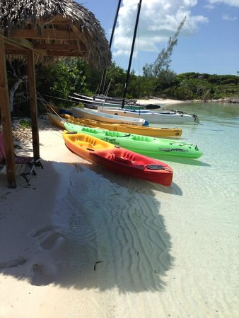 St Francis Resort: Marina side kayaks