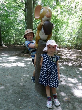 Thorndon Country Park: the big bad mouse