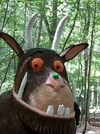 Thorndon Country Park: The Gruffalo