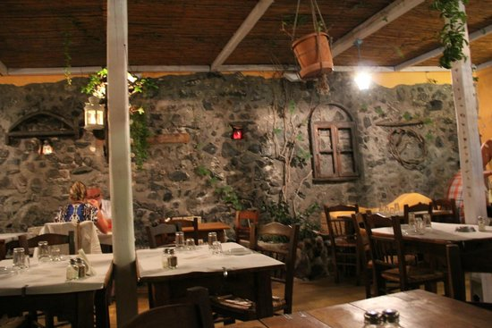 Kapari Taverna : Обстановка
