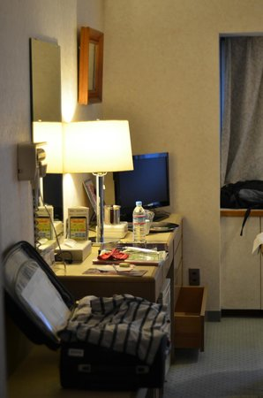 Narita Airport Rest House: the desk