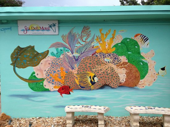 Sea Dell Motel: O'Farril mural