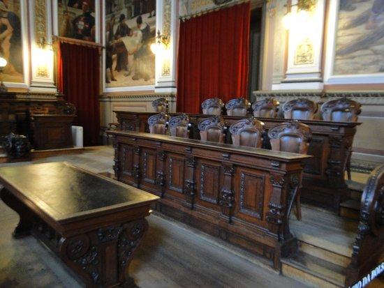 Palacio da Bolsa : tribunal do palácio