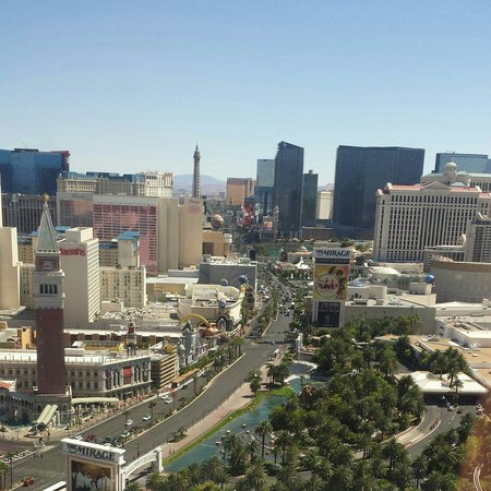 Treasure Island - TI Hotel & Casino : View from the 35th floor