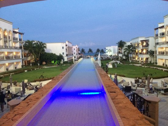The Royal Playa del Carmen: View from the lobby