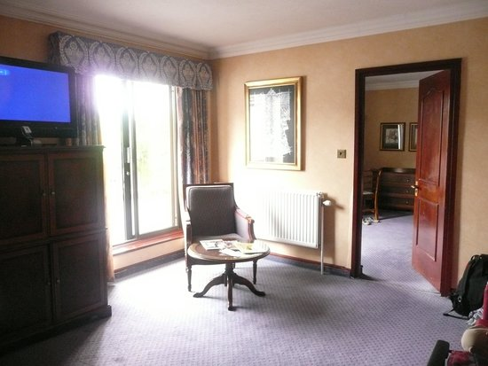 Copthorne Hotel Effingham Gatwick: The living area