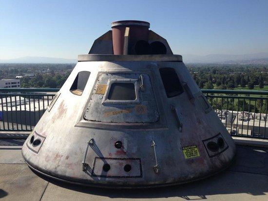 movie prop Apollo 13 capsule - Picture of Universal ...