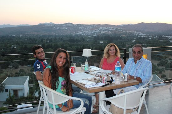 Ramada Resort Bodrum: view from restaurant ( The Club )