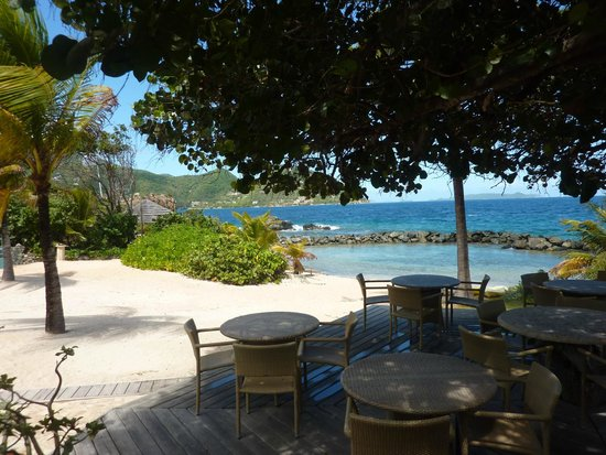 Frenchmans: sandy beach with romantic cabanas or alluring views