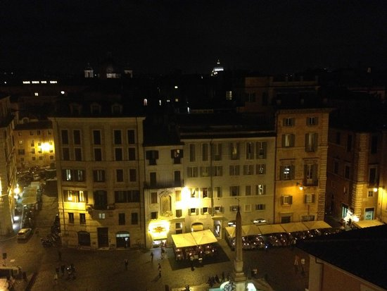 Albergo del Senato: View from rooftop bar