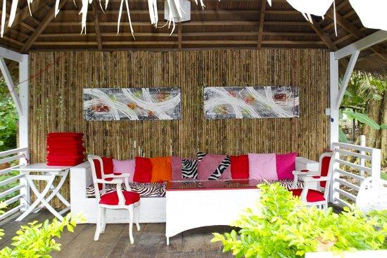 Le Cameleon Boutique Hotel : Beach Club