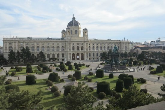 Kunsthistorisches Museum: Vista do Museu