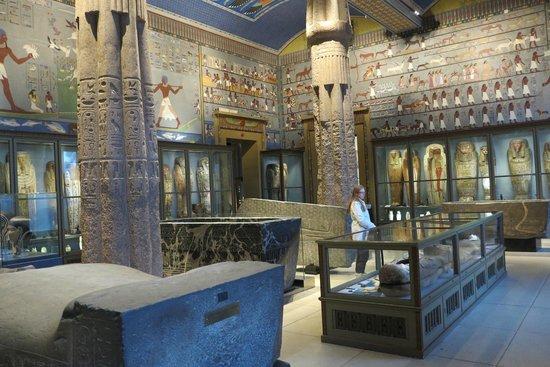 Kunsthistorisches Museum: Exposição egípcia