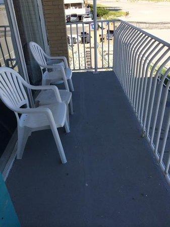 Villa Nova Motel: balcony
