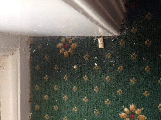 Royal Bath Hotel & Spa: Dirty carpets
