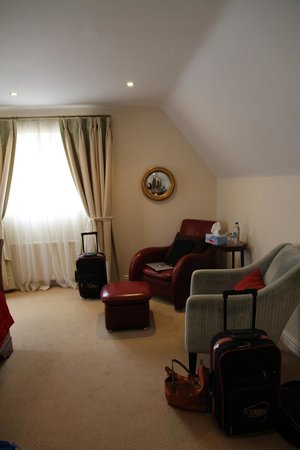 Dial House Hotel : Seating in room 12