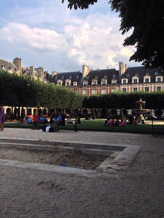 Place des Vosges : Piazza