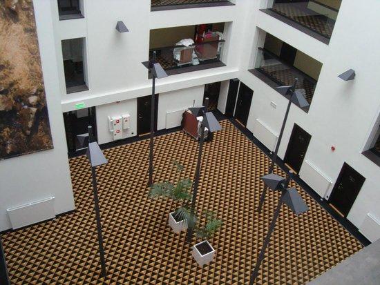 Meresuu Spa and Hotel : внутренний дворик