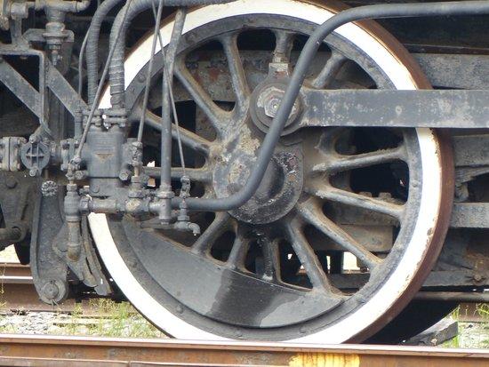Steamtown National Historic Site: Big Wheels