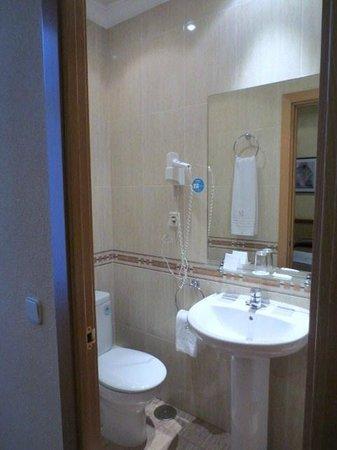 Hotel Mediodia: 浴室