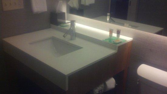 Hyatt House Los Angeles/El Segundo: a nice size sink with modern faucet